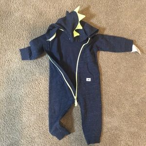 Carter's one piece dinosaur outfit